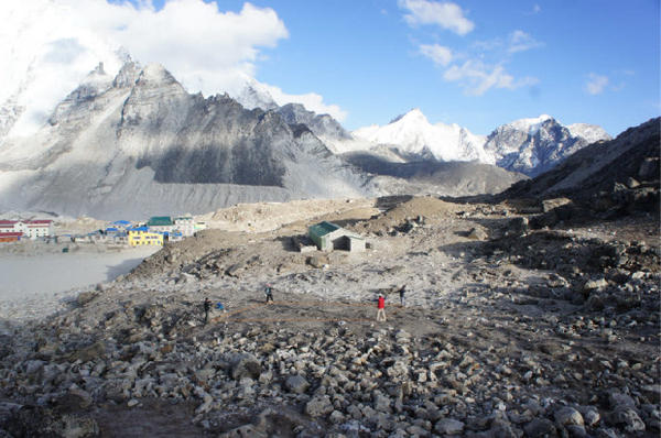 <p>Northwest engineers hope to build a digester for human waste in Gorak Shep, a tiny village in Nepal near the Mount Everest base camp.</p>