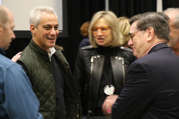 Chicago Mayor and former White House Chief of Staff Rahm Emanuel
