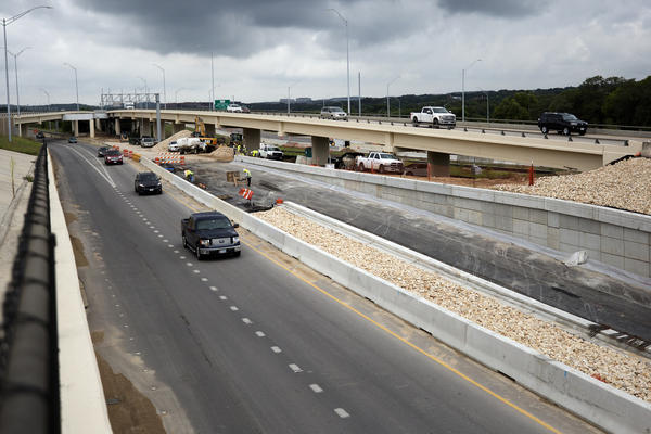 In Austin, some portions of the MoPac Expressway are being readied for toll traffic.