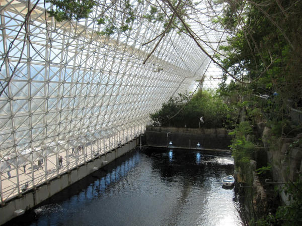 <p>A tank at Biosphere 2 known as the Biosphere 2 Ocean.</p>