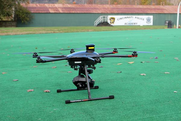 The Traffic Unit uses two UAV's for scene reconstruction.