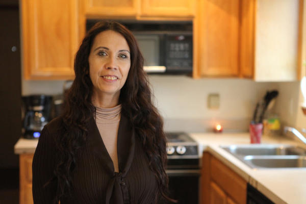 <p>Anita Espino, a Siletz tribal member, worked at Chemawa Indian School for 28 years in both classrooms and residence halls. She left in 2016.</p>