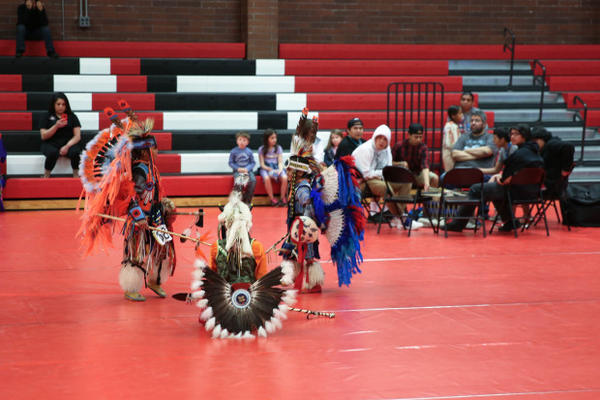 <p>Pow Wow at Chemawa Indian School back in May of 2017.</p>