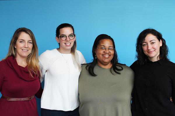 Chelsea Bollea, Cecelia Rizk, Jennifer Longmire Wright, and Bailey Muto.