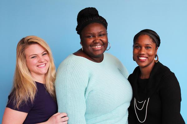 Amanda Heerwig, Loren Pritchett, and Alaina Gibbs.