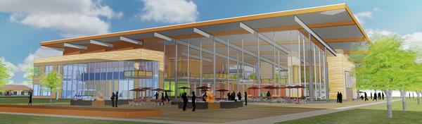 Illustration of proposed UIS student union