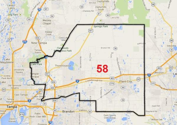 Florida House District 58