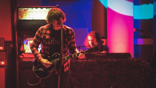 Ryan Adams performs live at the World Cafe 25th anniversary concert in Philadelphia.