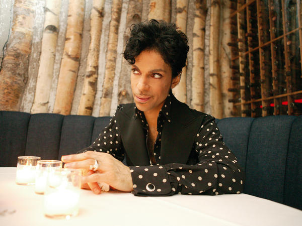 Prince is discussing everything from love to the constellations, 2004.