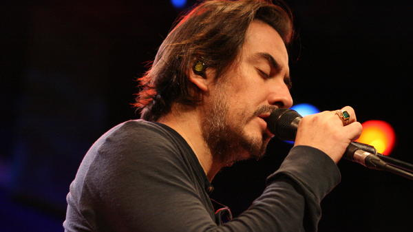 Dhani Harrison performs live at World Cafe Live.
