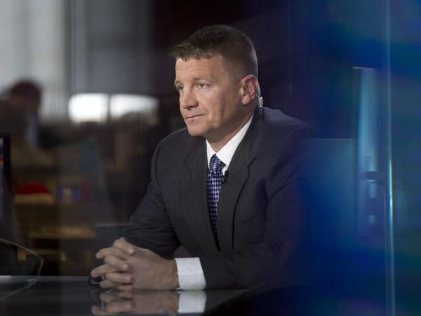 Erik Prince, during a 2014 television interview.