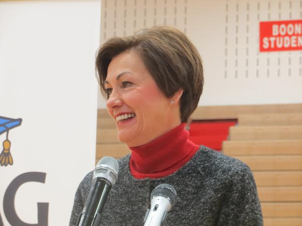 Iowa Gov. Kim Reynolds