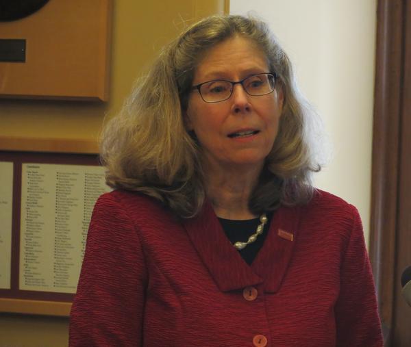 ISU President Wendy Wintersteen