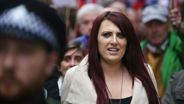 "Jayda Fransen, deputy leader of the far-right organization Britain First, tweeted: ""GOD BLESS YOU TRUMP! GOD BLESS AMERICA!"" after the president retweeted a video from the controversial group."