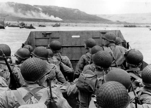 American troops approach Omaha Beach on D-Day, 6 June 1944. For more than 100 years, the United States Army tested chemicals on soldiers.