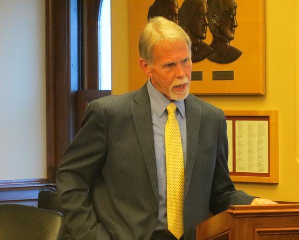 Iowa Department of Corrections Director Jerry Bartruff