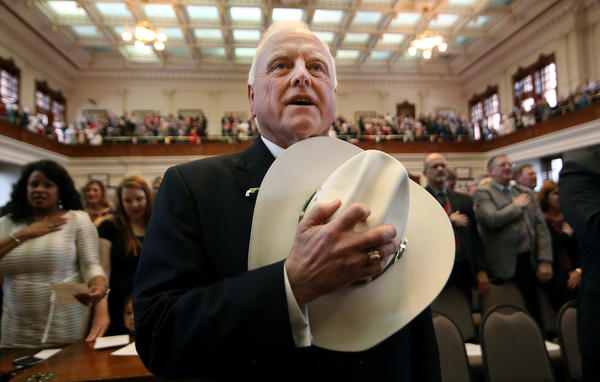 Texas Agriculture Commissioner Sid Miller.