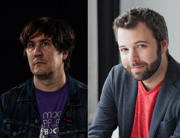 John and Joseph join forces to host their new podcast, 'I Only Listen to the Mountain Goats.'