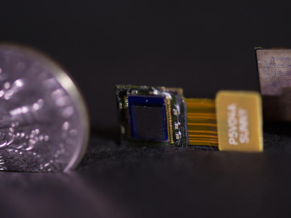 Rice University's FlatCam is thinner than a dime.