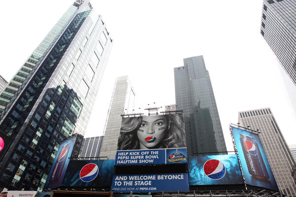 Beyonce inked a $50 million endorsement deal with Pepsi in 2012.