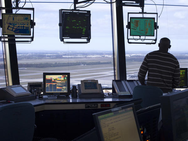 Air traffic controllers at Dulles International Airport outside Washington, D.C., are using new technology that lets them exchange digital messages with pilots.