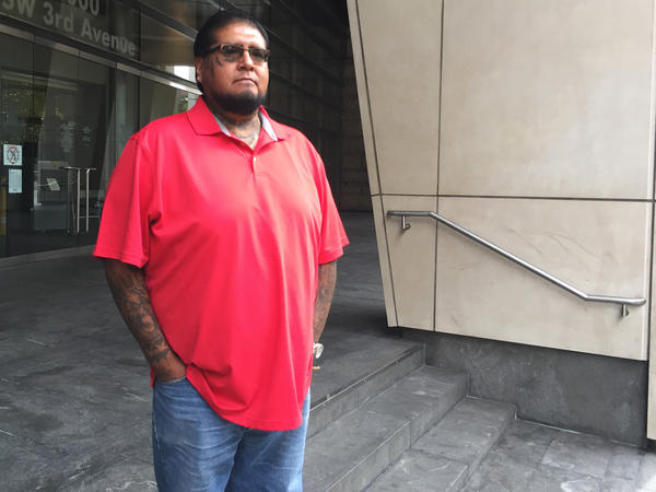 Jarvis Kennedy of the Burns Paiute Tribe made the six-hour drive between Burns, Ore., and the federal courthouse in Portland several times to follow the Bundy trial.