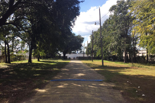 This empty lot is where Walter Scott was shot on April 4, 2015.