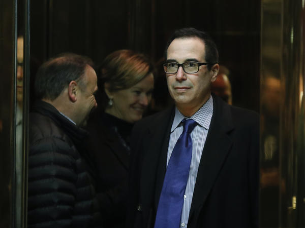 Wall Street financier Steve Mnuchin is being considered to serve as Treasury secretary under Donald Trump. Mnuchin assembled investors who bought IndyMac, a failed bank that had been taken over by the FDIC.