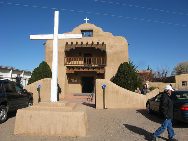 Santo Tomas Catholic Church in Abiquiu, N.M., is the site of an annual saint's day celebration in late November that includes cultural elements of the <em>genizaros</em>, the descendants of Native American slaves.