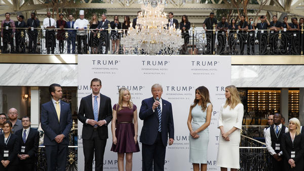 The recently opened Trump International Hotel in Washington, D.C., is just one of several businesses that could pose a conflict of interest for President-elect Donald Trump as he prepares to take office.