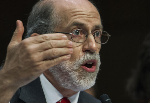 """I would put the work we do up against anybody who is in the mainstream,"" says Frank Gaffney, pictured in 2013 as he testified at a Senate subcommittee hearing about Guantanamo."