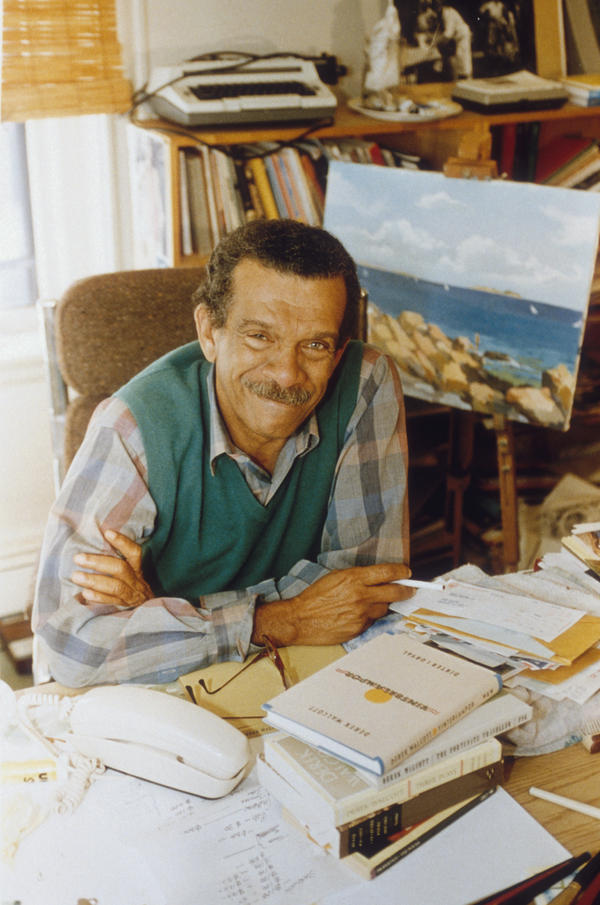 Poet and playwright Derek Walcott published his first poem at the age of 14. He won the Nobel Prize in Literature in 1992.