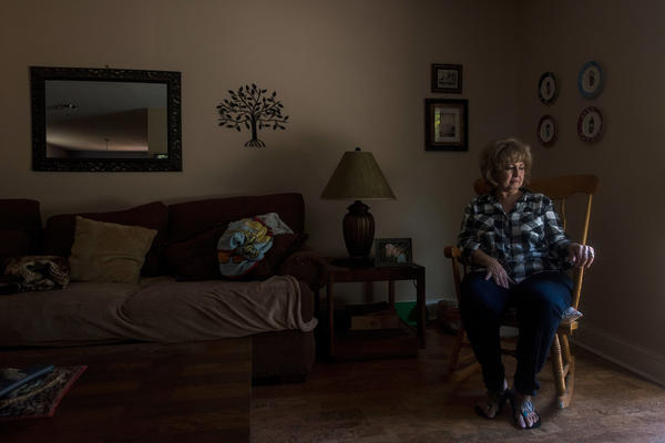Ellen Bethea at her home in Jacksonville, Fla. After her husband died, she paid $7,000 for her husband's cremation and funeral. She was unaware that the same company offered the same cremation services for much less.