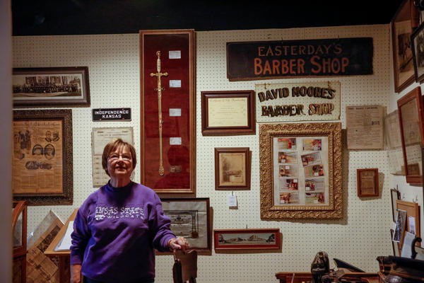 Joy Barta is president of the Independence Historical Museum's board of directors.