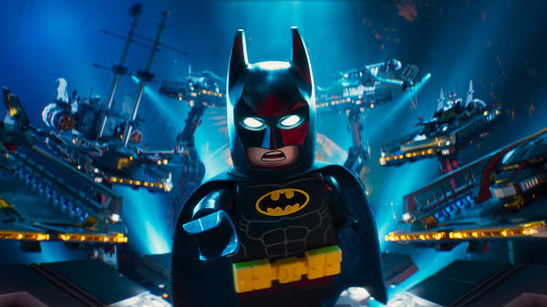 """We cool, bro, or nah-nah-nah-nah-nah-nah-nah-nah-nah-nah-nah-nah-nah?"" Will Arnett voices the Dark Knight in <em>The LEGO Batman Movie</em>."
