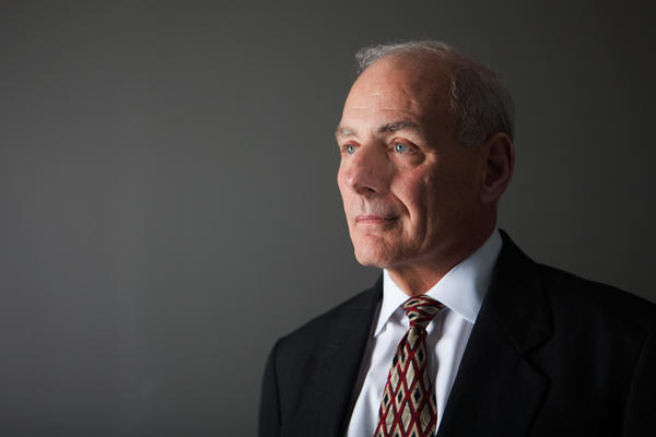 In an interview with NPR, Homeland Security Secretary John Kelly again took the blame for the rocky rollout of the travel ban and for failing to notify congressional leaders of the policy's implementation.