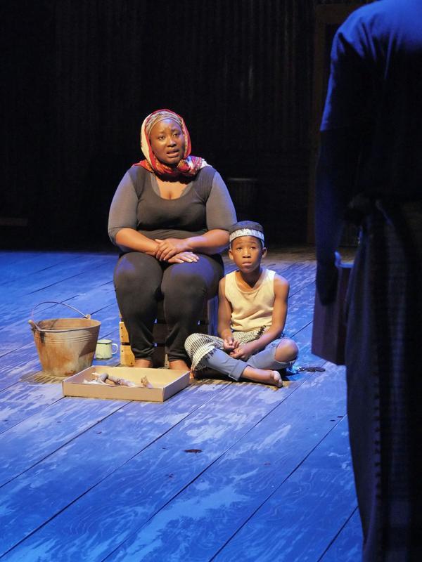 Pauline Malefane appears alongside Siphosethu Juta in <em>A Man of Good Hope.</em>