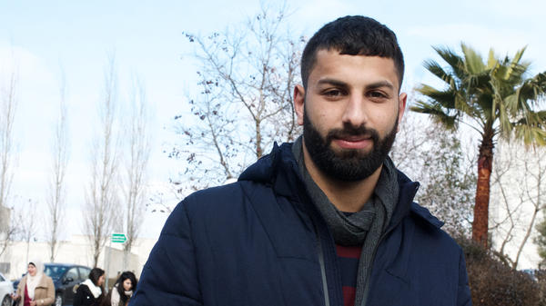 Amjad Hasan, a 22-year-old electrical engineering student at Birzeit University near the Palestinian city of Ramallah, says President Trump seems indifferent to Palestinians.