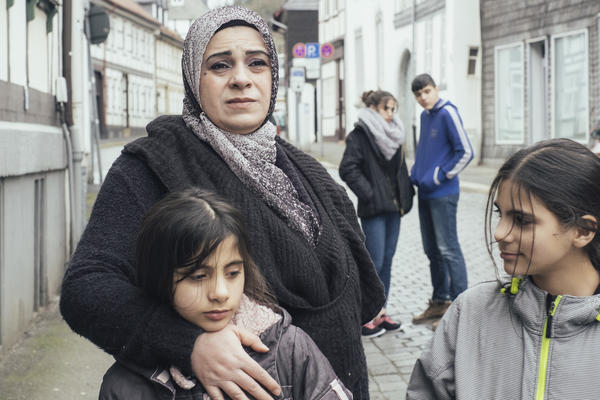 <em>Watani: My Homeland</em> follows Hala Kamil and her family as they move from Aleppo, Syria, to a small German city that welcomes refugees.