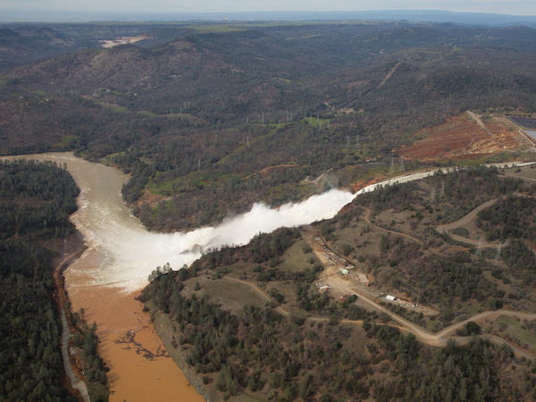 Almost 200,000 people were ordered to evacuate after a hole in the emergency spillway in Northern California's Oroville Dam threatened to flood the surrounding area. Climate change could be a factor of extreme flooding in California.