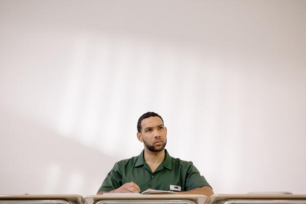 Dyjuan Tatro, 31, has served 11 years for violent gang and drug crimes. He is a math major with a 3.72 GPA and was part of the team of inmates who beat Harvard in a debate.