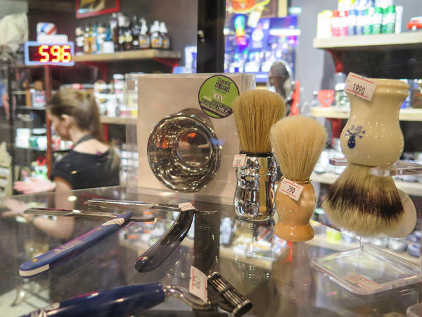 Pomades started out as an online shop selling imported male grooming products.