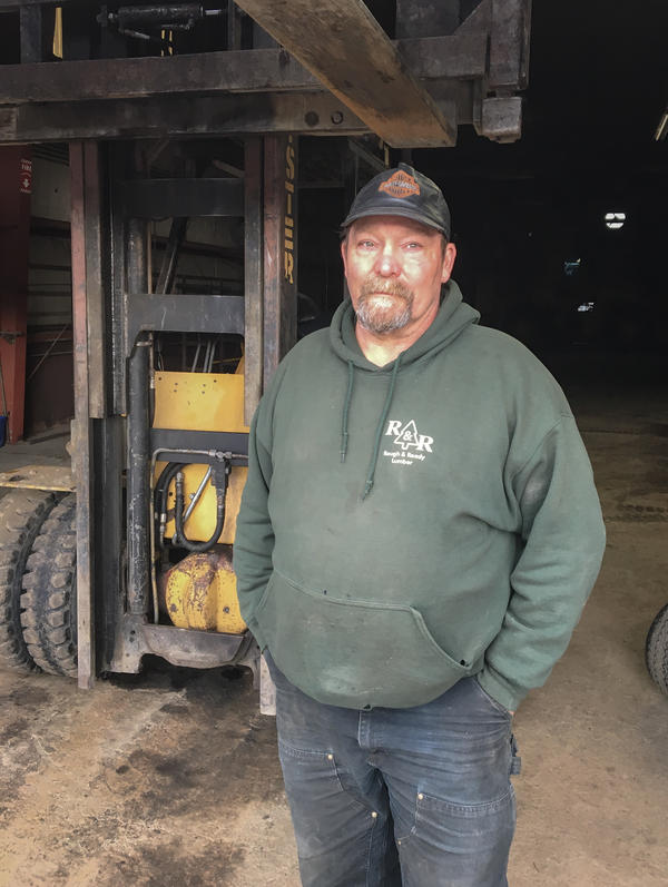 Former Rough & Ready employee Lonnie Adams, 60, worked at Rough and Ready for more than 35 years.