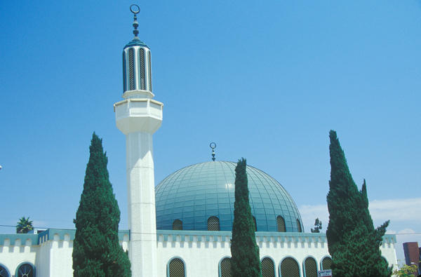 Masjid Omar ibn Al-Khattab Mosque in Los Angeles, Calif.