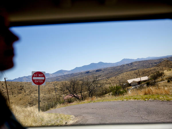 Looking out at the Arizona landscape near the U.S.-Mexico border near Nogales, Ariz. A whopping 6.3 billion pounds of fresh produce crossed the border at Nogales during the 2015-16 season.