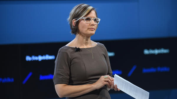 Code for America founder and Executive Director Jennifer Pahlka speaks Nov. 10 at<em> The New York Times</em> DealBook Conference at Lincoln Center in New York City.