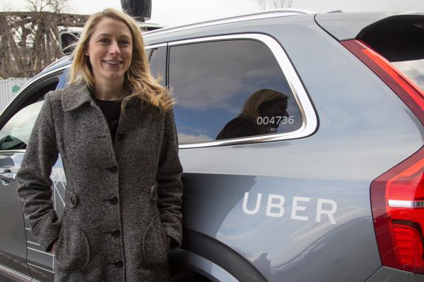 """It's still very early in what we're doing, but it's going very well,"" Uber engineer Emily Duff Bartel says."