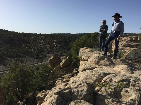 Don and Jane Schreiber live in the energy-rich San Juan Basin, where they say their ranch is surrounded by 122 oil and gas wells.