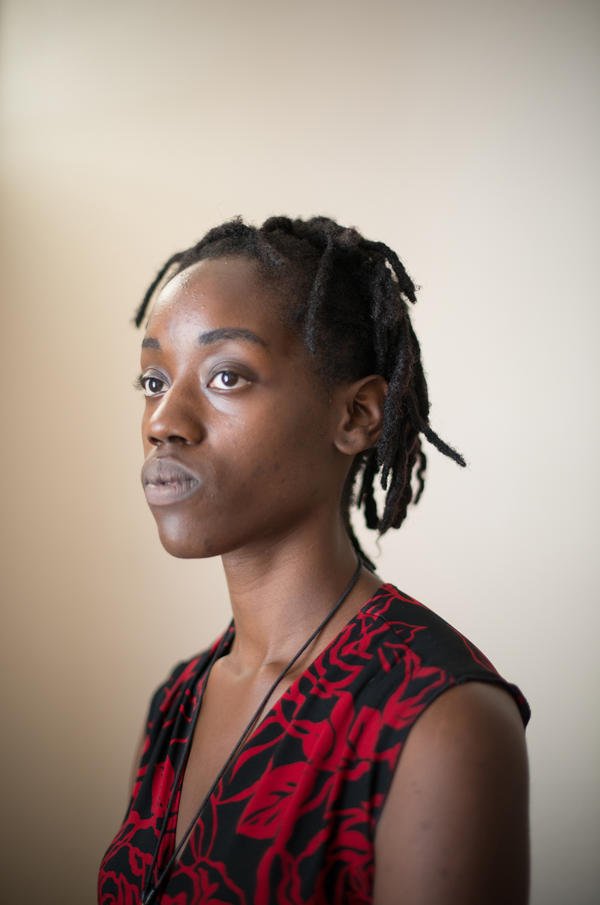 """Farryn Giles was unable to find approved housing using the Section 8 voucher she received. """"There just aren't enough vacancies or communities don't want these types of properties in their areas,"""" she says."""
