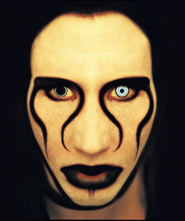 Marilyn Manson, photographed for <em>Rolling Stone</em> in 1996.